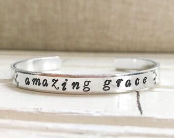 Amazing Grace Cuff