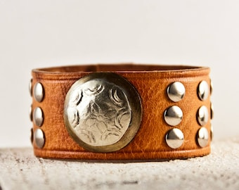 Leather Jewelry, Leather Cuffs, Leather Bracelets, Brown Leather, Leather Wristbands, Leather Wrist Cuffs, Leather Accessories