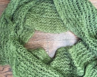 Green Winter Scarf