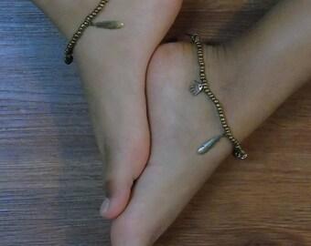 Bronze jewelry handmade customized ,ankle bracelet