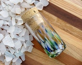 "Sea Glass Bottle, 4""..."