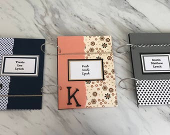 Card Keeper - Birthday Card Organizer - Birthday Cards Storage - Greeting Card Organizer - Greeting Card Book - Card Holder - Card Storage