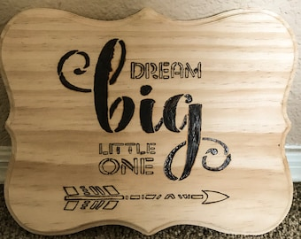 Dream Big * Staining in Process, Picture to Show Stained Color. Better pictures coming*