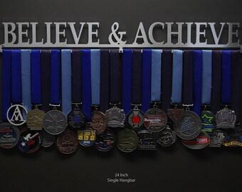 Believe & Achieve - Allied Medal Hanger Holder Display Rack