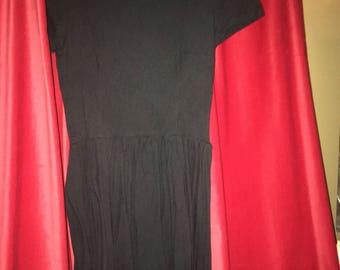 Black Wednesday Addams dress.