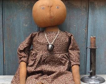 Primitive Pumpkinhead Doll - Tendril