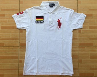 Rare Polo By Ralph Lauren Germany  Flag