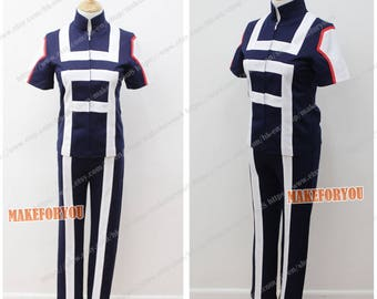 Men's My Hero Academia Cosplay Costume blue
