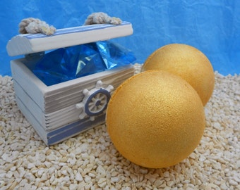 Gold Rush Bath Bomb