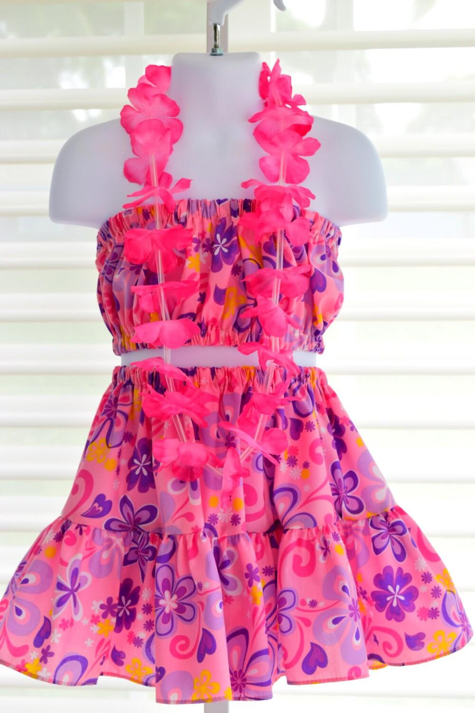 Magnífico Vestido Hawaiano Para La Fiesta Inspiración - Colección de ...