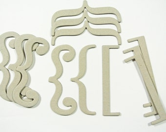 SALE - Chipboard Brackets Set of 2
