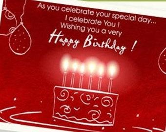 Happy Birthday Digital Cards