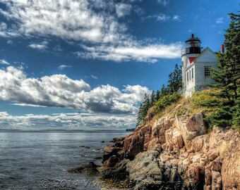Lighthouse Photography – Bass Head Harbor Lighthouse in Maine