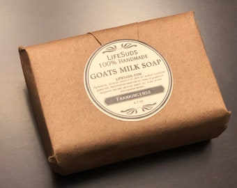 Frankincense Goats Milk Soap