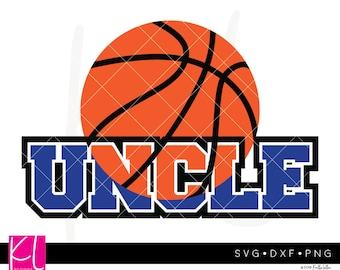 Basketball Uncle svg, Basketball Uncle Shirt svg, Basketball Uncle , Basketball svg, Uncle svg, Uncle svg file, Basketball Monogram svg