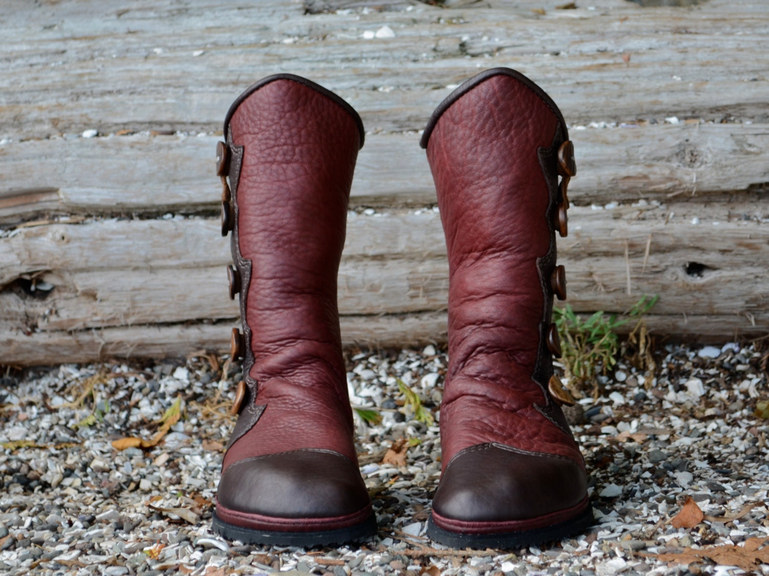 Salt Spring Island Moccasins Leather Women's Boots