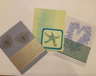 Custom made cards, notes, invitations