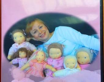 Waldorf Doll Making DVD Instructional dolls Steiner
