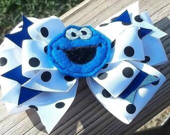 Little Blue Monster Friend