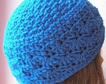 PDF Crochet Pattern for Noni's Shell Stitch Beanie