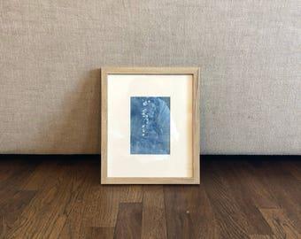 Original Abstract Painting, 11 x 13, Home Decor, Interior Design, Blue