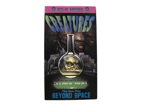 Vintage Syngenor & They Came from Beyond Space 2x VHS