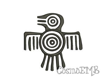 9 Size Symbol Mayas Embroidery design Machine Embroidery - Digital INSTANT DOWNLOAD
