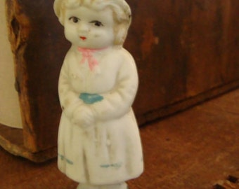 1900s Occupied Japan Bisque Adorable Doll
