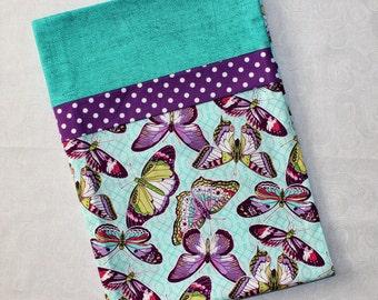 Purple Butterflies Standard Pillowcase