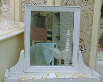 Valet Wall Mount Chalkpainted Womens Mens Shabby Chic French Country Chic