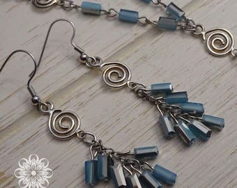 Riverside Necklace and Earrings