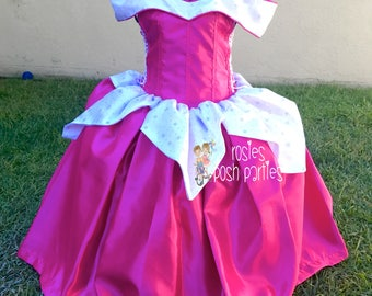 Aurora Sleeping Beauty dress for Birthday costume or Photo shoot Aurora dress outfit Birthday dress costume Princess dress Birthday party