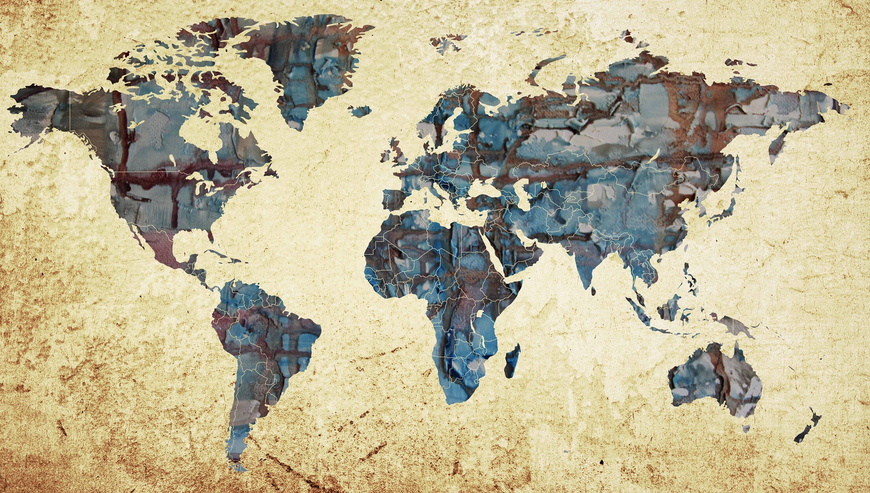 Large world mapworld map abstract map wall art world map painting large world mapworld map abstract map wall art world map paintingworld map printmap postermap canvaspush pinhand madedecorative art publicscrutiny Image collections