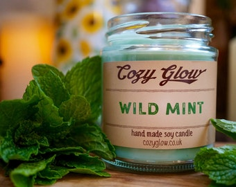 Wild Mint Soy Candle 6.8 ounce Jar