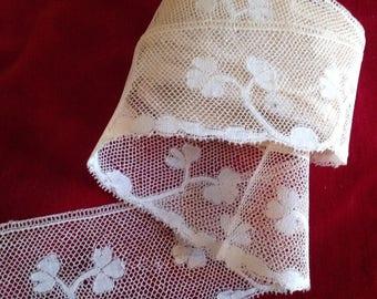 Very beautiful fine antique bobbin lace