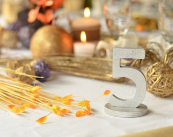 Table Numbers- Wedding Table Numbers