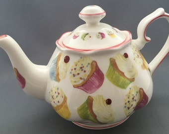 Royal Brindley Large Cup Cakes Teapot
