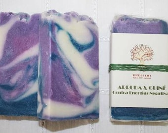 RUE & GUINEA hen weed soap - Against negative energies