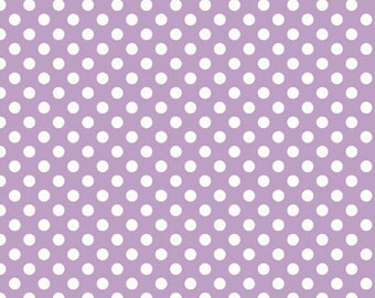 Small Dot LAVENDER  (C350-120) -  Riley Blake Designs - By the Yard