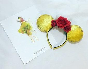 Belle Inspired Mouse Ears