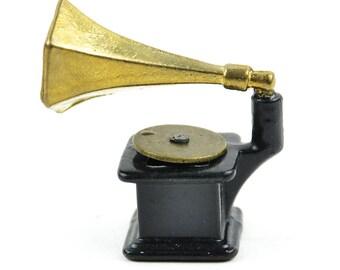 "Miniature Record Player - 1.5"""