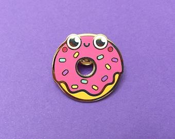 Donut Pin Pal - Hard Enamel Pin Badge