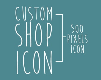 New Etsy Shop Icon New Layout Custom Personalized