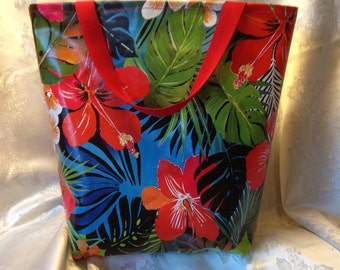 Jungle Print Large tote bag