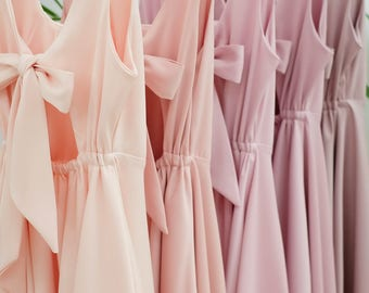 Peach Dresses Homecoming