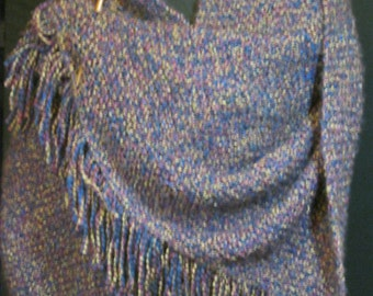 Homespun Shawl/Lap Robe