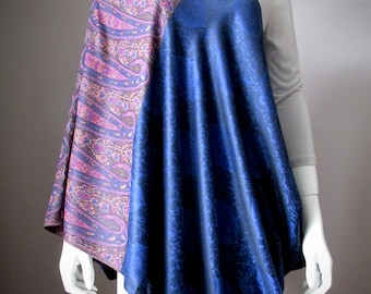 New Mom gift everyday accessories Nursing Infinity scarves Pashmina Navy scarf Baby Shower favor Handmade Nursery Breastfeeding shawl