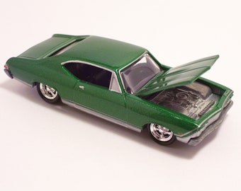 1968 Chevrolet Chevy Chevelle - Vintage Die Cast Car, 1/64th scale by Johnny Lightning