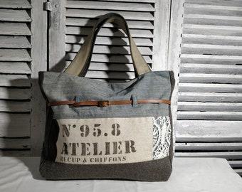 Large handbag, travel bag