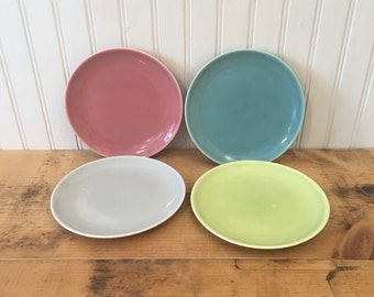 4 Vintage 1950's Harmony House Symphony   Oven Proof Dinnerware Small Plates
